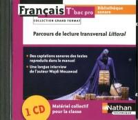 Coffret Bibliotheque Sonore 1 CD Audio Français  Term Bac Pro (Grand Format) 2011