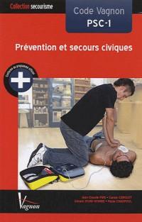 Code Vagnon PSC-1 Prévention et secours civique