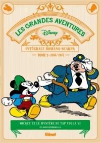 Les Grandes aventures de Romano Scarpa - Tome 02: 1956/1957 - Mickey et le Mystère de Tap Yocca VI et autres histoires