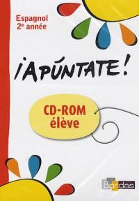 Espagnol 2e année - iApuntate ! - CD-ROM élève