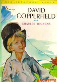 David Copperfield : Collection : Bibliothèque verte cartonnée