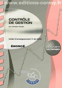 Controle de Gestion Enonce (Pochette) - Ue 11 du Dcg