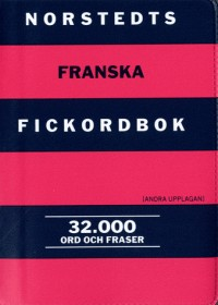 Dictionnaire français-suédois et suédois-français : 32 000 mots poche