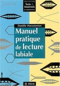 Manuel pratique de lecture labiale