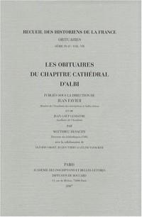Les obituaires du chapitre cathédral d'Albi