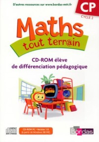 CD-ROM MATHS TOUT TERRAIN CP DIFFERENCIATION 2007 Livre scolaire