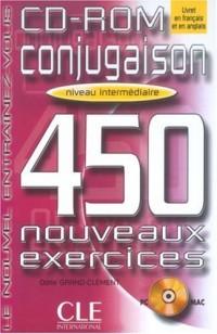 Conjugaison : 450 nouveaux exercices - CD-Rom