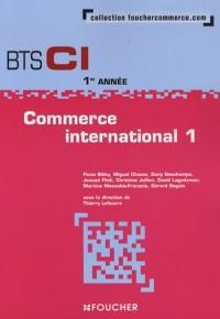 Commerce international 1; BTS CI 1e année