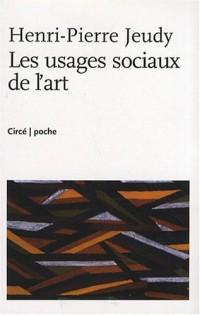 Les usages sociaux de l'art