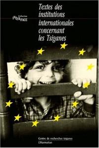 Textes des institutions internationales concernant les tsiganes