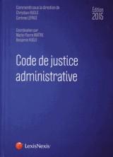 Code de justice administrative 2015