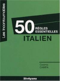 50 règles essentielles en italien