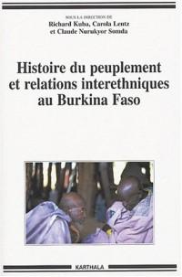 Histoire du peuplement et relations interethniques au Burkina Faso