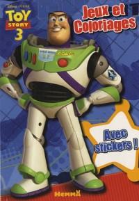 Bloc Jeux et Coloriages Toy Story 3