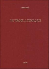 De Troie à Ithaque : Réception des épopées homériques à la Renaissance