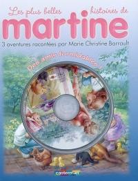 3 Histoires de Martine 1 (Livre +CD)