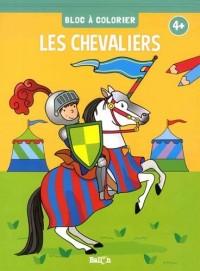 Bloc à colorier -chevaliers