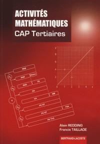 Activités mathématiques CAP Tertiaires (Services-Restauration)