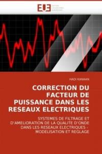 Correction du facteur de puissance dans les reseaux electriques