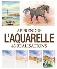 Apprendre l'aquarelle : 45 réalisations