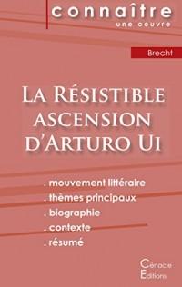 Fiche de lecture La Résistible ascension d'Arturo Ui de Bertold Brecht (Analyse littéraire de référence et résumé complet)