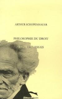 Philosophie du droit et autres essais