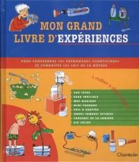 Mon grand livre d'expériences