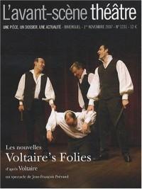 L'Avant-Scène théâtre, N° 1231 : Les nouvelles Voltaire's Folies
