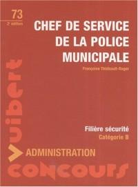 Chef de service de la police municipale