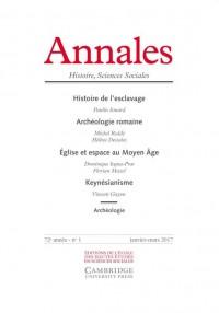 Annales. Histoire Sciences Sociales 2017/1