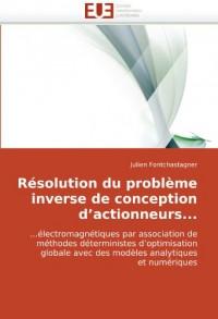Rsolution Du Problme Inverse de Conception D'Actionneurs...