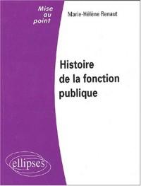 Histoire de la fonction publique