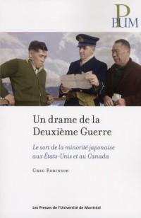 Un Drame de la Deuxieme Guerre. le Sort de Laminorite Japonaise
