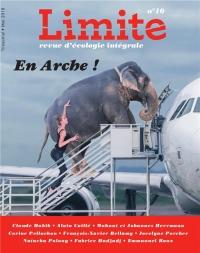 Revue Limite N 10. la Cause Animale