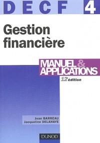 Gestion financière, DECF numéro 4 : Manuel et applications
