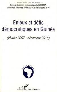 Enjeux et défis démocratiques en Guinée : Février 2007 - Décembre 2010
