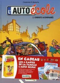 Auto école tome 2 jeu des familles Bamboo
