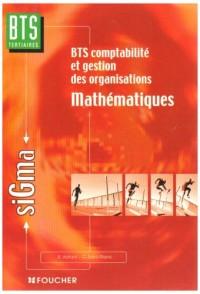 Mathématiques : BTS Comptabilité et gestions des organisations