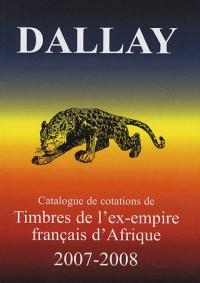 Timbres de l'ex-empire français d'Afrique 2007-2008