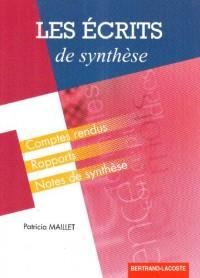 Les écrits de synthèse : Des outils méthodologiques pour rédiger
