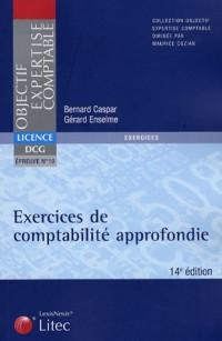 Exercices de comptabilité approfondie DCG épreuve n° 10