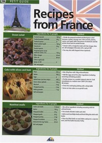Recipes from France : Edition en langue anglaise