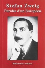 Paroles d'un Européen [Poche]