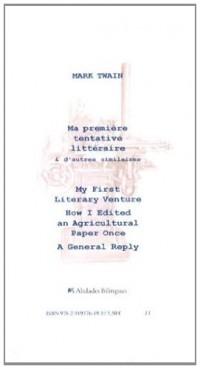 Ma première tentative littéraire & d'autres similaires