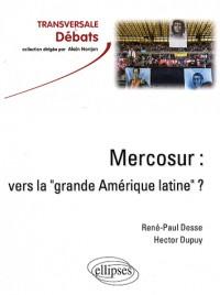 Mercosur : vers la