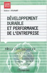 Développement durable et performance de l'entreprise