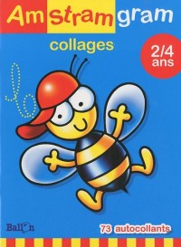 Amstramgram Collages Abeille 2/4 ans