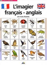 L'imagier français-anglais : 225 Mots illustrés