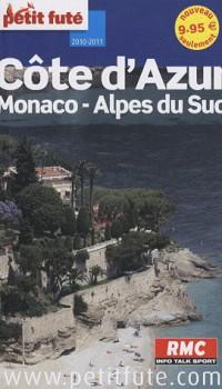 Côte d'Azur 2010 petit futé