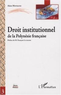 Droit institutionnel de la Polynésie française